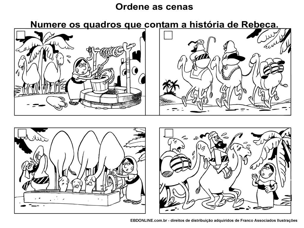lista de dezenas de desenhos infantis com ilustrações biblicas do